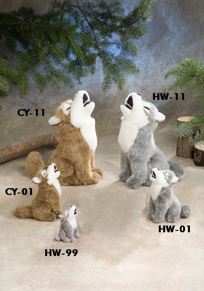 Stuffed Animal House - Howling Wolf hw01